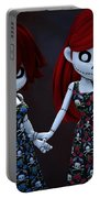 Gothic Rag Dolls Portable Battery Charger