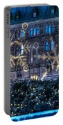 Gothic Snowflakes Portable Battery Charger