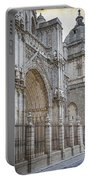 Gothic Splendor Of Spain Portable Battery Charger
