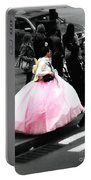 Gown Of Pink Portable Battery Charger