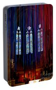 Grace Cathedral With Ribbons Portable Battery Charger