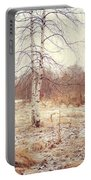 Grace In The Snow. Winter Poems Portable Battery Charger