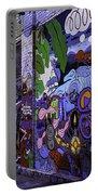 Graffiti Alley San Francisco Portable Battery Charger
