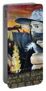 Graffiti Art Curitiba Brazil 10 Portable Battery Charger