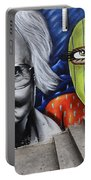Graffiti Art Curitiba Brazil 3 Portable Battery Charger