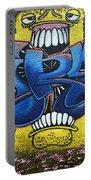 Graffiti Art Curitiba Brazil 7 Portable Battery Charger by Bob Christopher