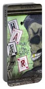 Graffiti Art Rio De Janeiro 4 Portable Battery Charger