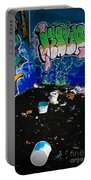 Graffiti Portable Battery Charger