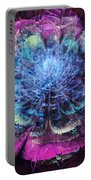 Graffiti Floral Portable Battery Charger