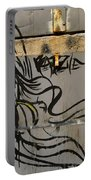 Graffiti Girl Portable Battery Charger