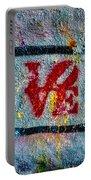 Graffiti Love Portable Battery Charger