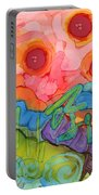 Graffiti On The Wall Of My Mind Portable Battery Charger
