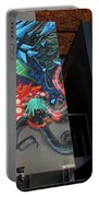 Grafitti And The Panes Portable Battery Charger