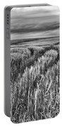 Grain Field Tracks Portable Battery Charger