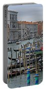 Grand Canal From Rialto Bridge Portable Battery Charger