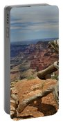 Grand Canyon And Dead Tree 1 Portable Battery Charger
