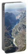 Grand Canyon Du Verdon Overview Portable Battery Charger