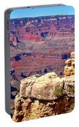 Grand Canyon Of Red By Diana Sainz Portable Battery Charger