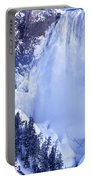 Grand Canyon Of The Yellowstone Yellowstone National Park Wyoming Portable Battery Charger
