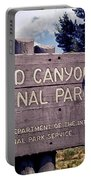 Grand Canyon Signage Portable Battery Charger