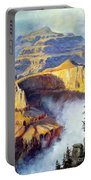 Grand Canyon View Portable Battery Charger by Lee Piper