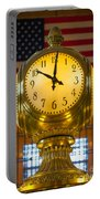 Grand Central Clock Portable Battery Charger