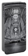 Grand Central Corridor Bw Portable Battery Charger