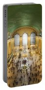 Grand Central Terminal Birds Eye View Portable Battery Charger