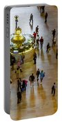 Grand Central Terminal Clock Birds Eye View  Portable Battery Charger