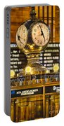 Grand Cerntral Terminal Clock No. 1 Portable Battery Charger