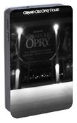 Grand Ole Opry At Night Portable Battery Charger