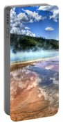 Grand Prismatic Spring - Yellowstone Portable Battery Charger