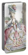 Grand Robe A La Francais, Engraved Portable Battery Charger