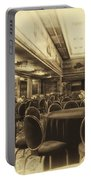 Grand Salon 05 Queen Mary Ocean Liner Heirloom Portable Battery Charger