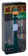 Grand Street Subway Station In Chinatown Manhattan Portable Battery Charger