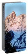 Grand Teton National Park Moonset Portable Battery Charger