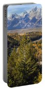 Grand Tetons Portable Battery Charger