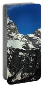 Grand Tetons Wyoming Portable Battery Charger