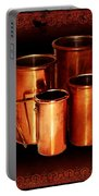 Grandma's Kitchen-copper Measuring Cups Portable Battery Charger