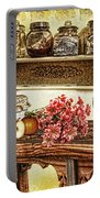 Grandma's Kitchen Portable Battery Charger by Mo T