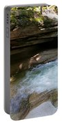 Granite Boulder And Sabbaday Brook Portable Battery Charger