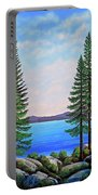 Granite Boulders Lake Tahoe Portable Battery Charger
