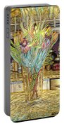 Granite Bouquet Vangogh Vision Portable Battery Charger