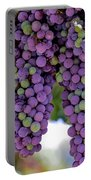 Grape Bunches Portrait Portable Battery Charger