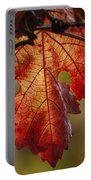 Grape Leaf Portable Battery Charger