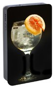 Grapefruit Gin Tonic Portable Battery Charger