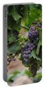 Grapes On Vine Portable Battery Charger