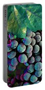 Grapes Painterly Portable Battery Charger