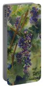 Baby Cabernets II   Triptych Portable Battery Charger