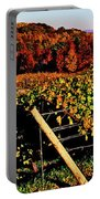 Grapevines In Vineyard, Traverse City Portable Battery Charger